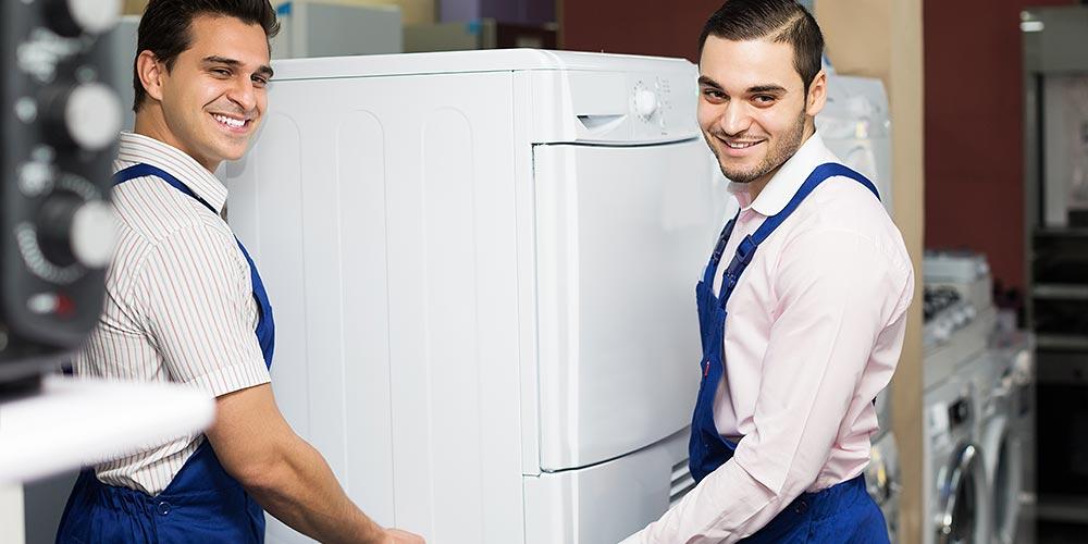 Transport von Waschmaschine, Kühlschrank, Spülmaschine und Herd