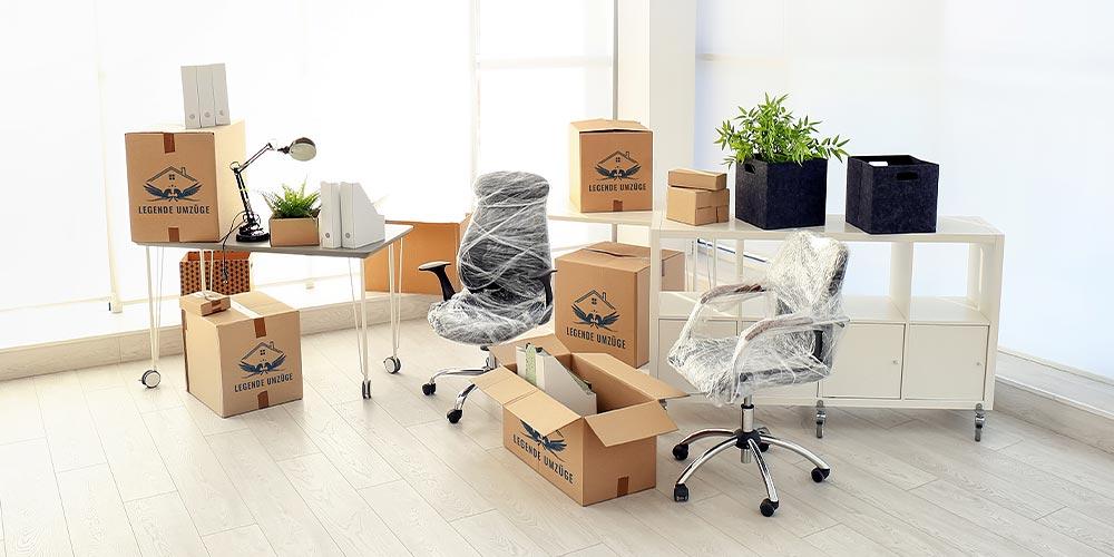 Umzüge für Firmen und Büroumzüge